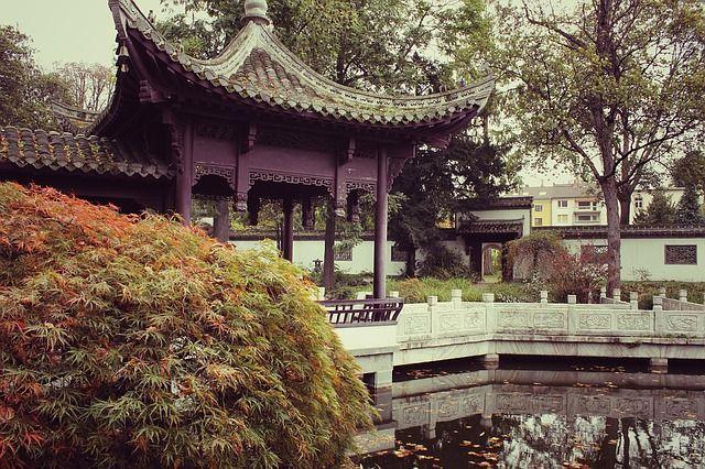 Bedeutung von japanischen Teegärten